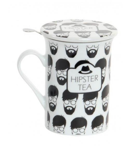 Mug Hipster Infusión Porcelana 280 ML