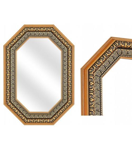 Espejo Octogonal Dorado