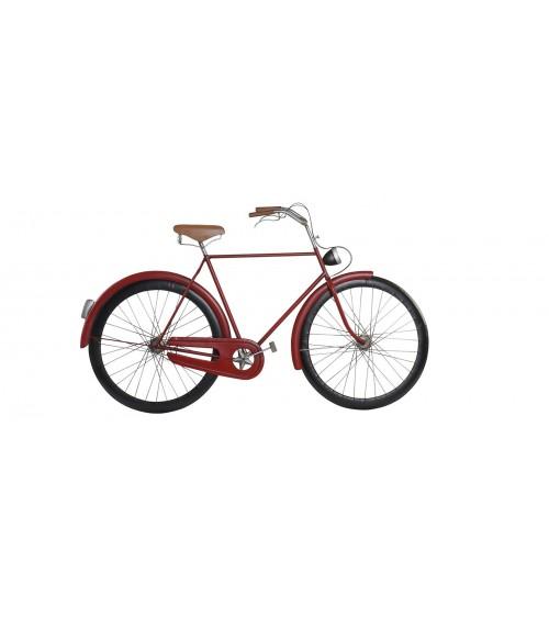 Bicicleta Metal Roja