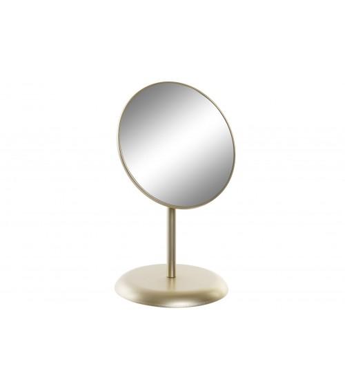 Espejo Sobremesa Metal Dorado
