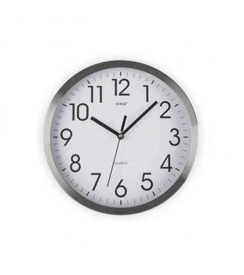 Reloj de Metal Plata