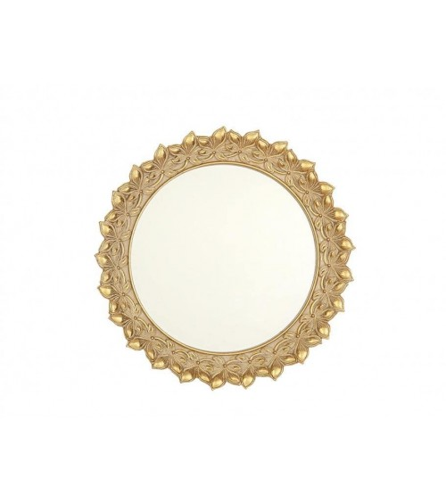 Espejo de Resina Dorado