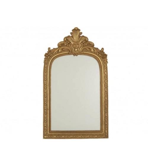 Espejo con Forma Dorado