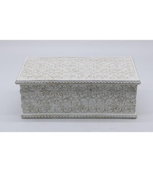 Caja de Resina Blanca