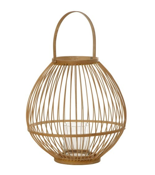 Farol de Bambú Natural