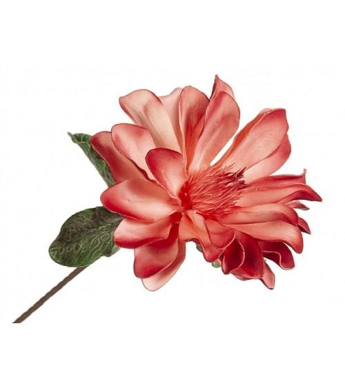 Flor Rosa de Foam