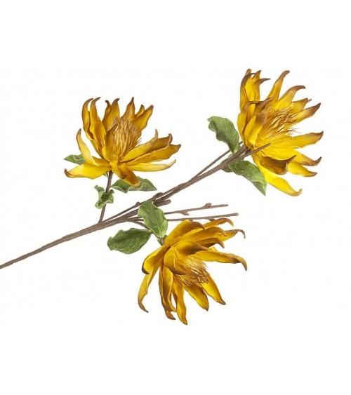 Rama 3 Flores Amarillas de Foam