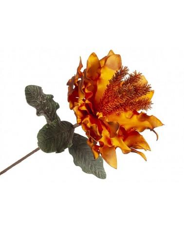 Flor Naranja de Foam