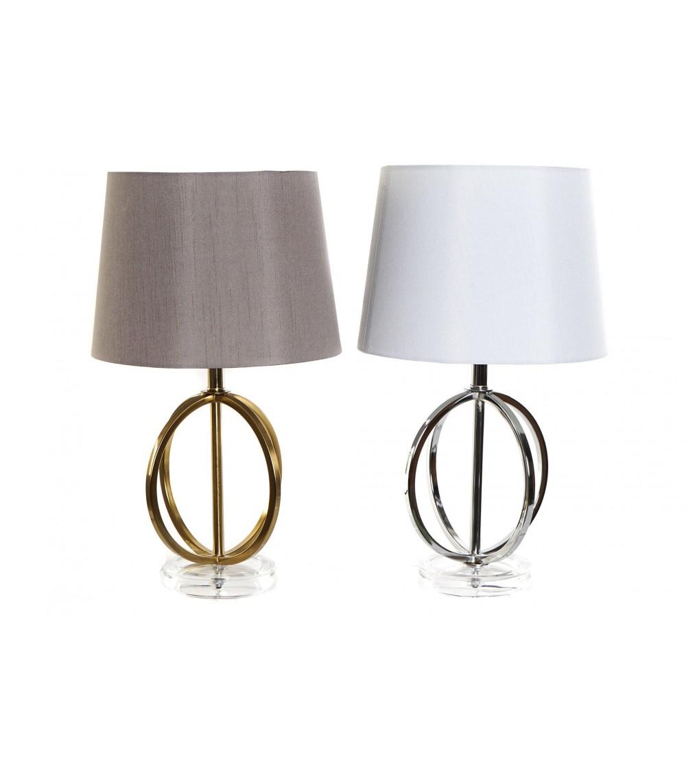Lámpara Sobremesa Círculos de Metal