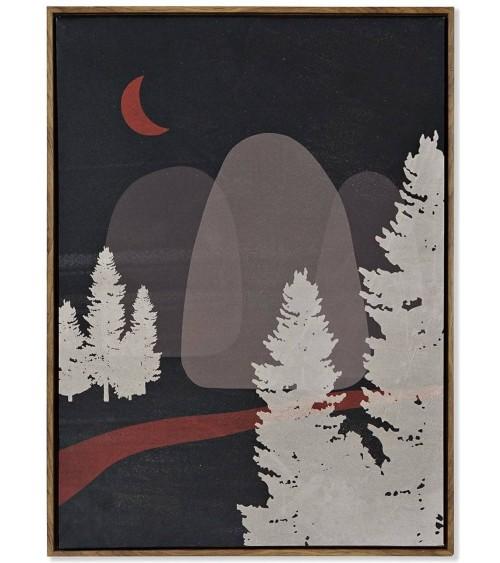 Cuadro Montaña Noche