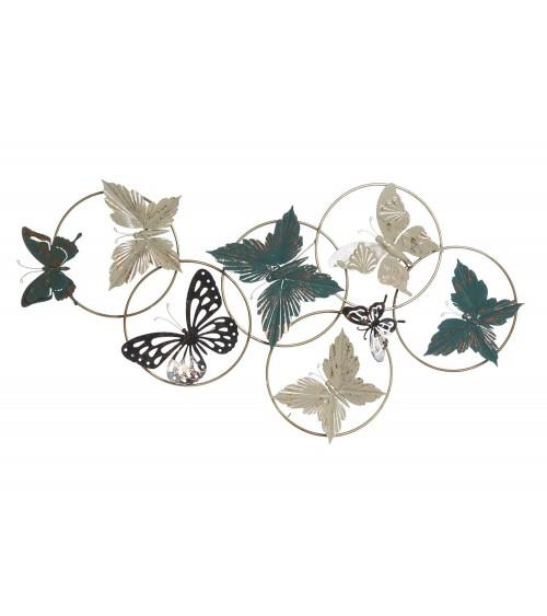 Decoración Pared Mariposas de Metal