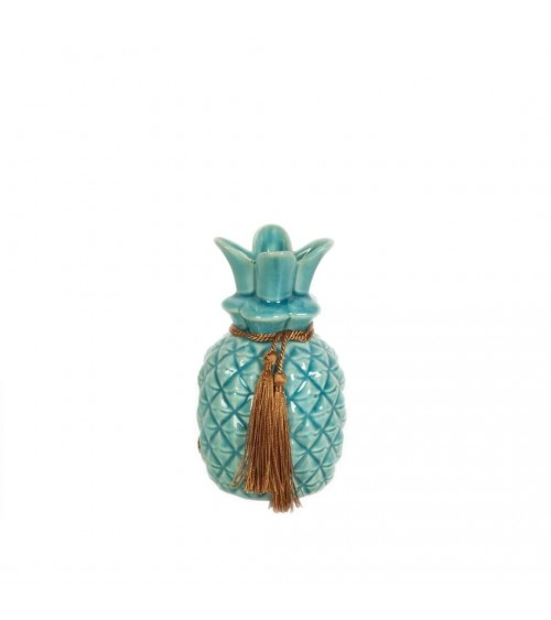 Piña de Cerámica Azul