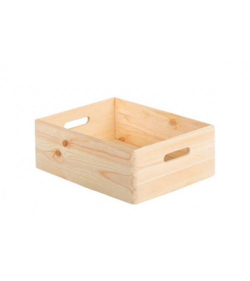 Caja de Madera Natural 40 x 30 cm