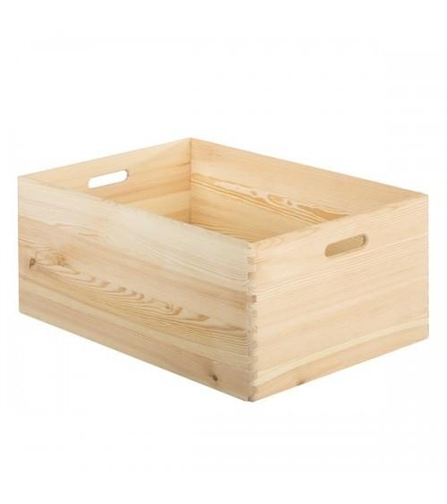Caja de Madera Natural 60 x 40 cm