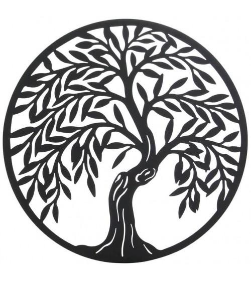 Árbol de la Vida de Pared Negro